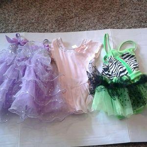 Other - BLOW OUT SALE Girls dance dresses, sz xsc